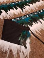 Contemporary short Korowai/Kakahu at $350.00
