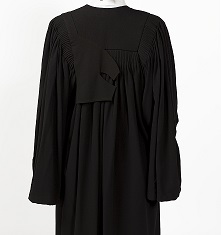 Legal Gown Rear View